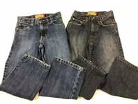 2 Boys Size 7 Slim OLD NAVY Blue Jeans Lot ~ EXCELLENT CONDITION ~ 7S
