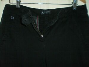 "Trousers ""Armani Jeans"" Black Colour Size: Eur 42  Good condition"