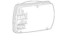 Genuine Ford Sealed Beam F3UZ-13007-A