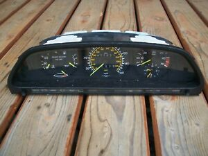 86-91 MERCEDES-BENZ W126 420SEL INSTRUMENT GUAGE CLUSTER OE 87001196 411K