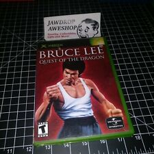 (REPLACEMENT CASE) BRUCE LEE QUEST OF THE DRAGON XBOX (NO GAME) ACTION