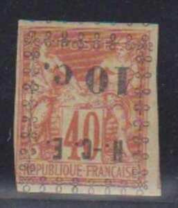 A3561: New Caledonia #11a Mint, OG, H; CV $42