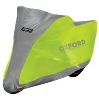 Oxford Aquatex Flourescent Motorcycle Motorbike Scooter Waterproof Cover Large