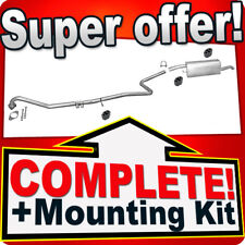 Ford Fusion 1.4 TDCI TD 50KW Silencer Exhaust System A75