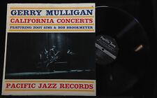 Gerry Mulligan-California Concerts-Pacific Jazz 50-MONO