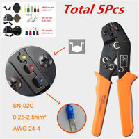 Car Wire Cable Cut Terminal Crimper Plier Tool SN-28B SN-02C SN-06WF Jaws Tool