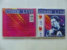 CD Album LEONARD COHEN Live in concert 477171 2