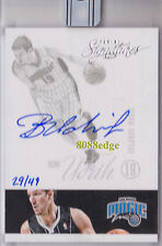 2015-16 PANINI REPLAY ROOKIE AUTO: BENO UDRIH #29/49 RC ON CARD AUTOGRAPH MAGIC