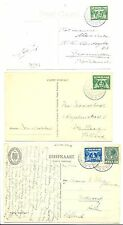 NEDERLAND S.M.N.1935/39 3x AK =M.S.CHRISTIAAN HUYGENS = PM-POSTAGENT   F/VF