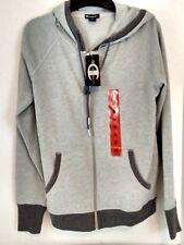 NEW Womens Champion Hoodie Zip Sweat Jacket Sz M Grey/Heather