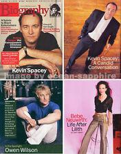 KEVIN SPACEY Meryl Streep BEBE NEUWIRTH Golden Girls CHARLTON HESTON  magazine
