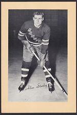 1945-1964 Beehive Group II 2 Hockey Allan Stanley New York Rangers Hi Grade HOF
