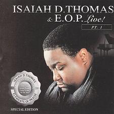 FREE US SHIP. on ANY 2 CDs! NEW CD E.O.P., Isaiah D. Thomas: Live, Pt. 1 Live