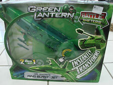 Green Lantern Hal Jordan Ring Blast Jet With Figure Transforms Jet To Tank Toy
