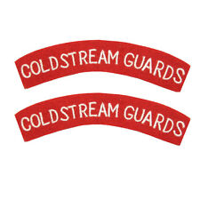 Coldstream Guards - WW2 Repro Shoulder Titles Patch Badge Flash British Army New