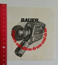 Aufkleber/Sticker: Bauer - Filmen mit allem drum und dran (04011774)
