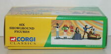 CORGI 1/43 SCALE THE SHOWMANS RANGE - SIX SHOWGROUND FIGURES - SET ONE