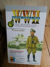 Action Figure 1/6 Dragon Rommel DAK  Display Box - 12 pouces DID Very Toys City