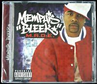 """MEMPHIS BLEEK """"M.A.D.E."""" 2003 CD ALBUM 17 TRACKS JAY-Z, T.I., NATE DOGG *SEALED*"""