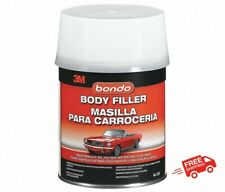 BONDO Auto Body Filler Boat Car Truck Repair Original Formula DIY Cream Hardener