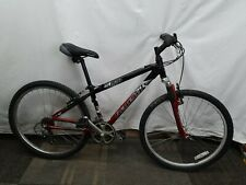"""Raleigh M20 14"""" XS Aluminum Frame Bicycle Mountain Bike 21 Speed Black Red"""