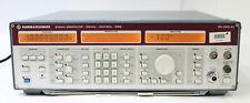Rohde Amp Schwarz Smg 100 Khz 1000 Mhz Rf Signal Generator 801000143 Opt B1 B2