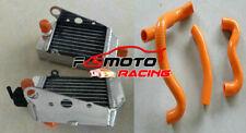 Aluminum Radiator+Orange Hose For Ktm 50 Sx/Sxs Mini 49cc/50cc Tc50 2012-2020