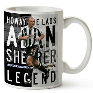 ALAN SHEARER Mug NEWCASTLE Football Legend Cup Christmas Dad Xmas Gift LG08