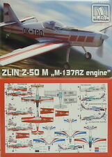 """Zlin z-50 M """"m-137az motore"""", brengun, 1:72, plastica, CZ, Slovenia, za, Novità"""