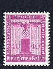 Germania 1942 EMISSIONE UFFICIALE EAGLE/SVASTICA 40Pf MAGENTA FINE Nuovo di zecca NH