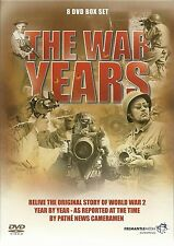 THE WAR YEARS - 8 DVD BOX SET - 1939 - 1945 & D-DAY THE STORY OF OVERLOAD