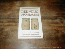 Red Wing Stoneware Illustrated 1983 DePasquale & Peterson FREE US SHIPPING