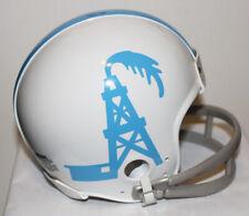 1959 Houston Oilers Prototype Riddell Custom Mini Helmet w/ 2 Bar Face Mask