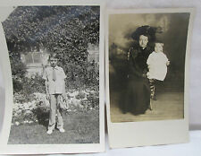 Lot of 17 Vintage Black & White Photos Snapshots Variety Children 1940's-1960's