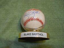 BLAKE BARTHOL AUTOGRAPHED SIGNED BASEBALL Colorado Rockies