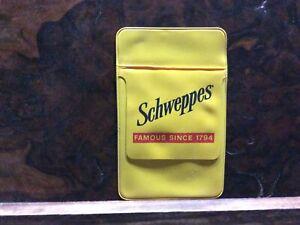 Schweppes Pocket Pen Holder Vintage
