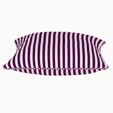 Dandi Fuchsia Purple Plum and White Striped Cushion Cover RRP $25.95ea 40cmx40cm