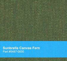 New Sunbrella Indoor / Outdoor Dyed Acrylic Fabric, Canvas Fern #5487, Green
