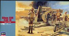 Hasegawa 1/72 Scale kit 31110, 88mm Flak 18 German Gun