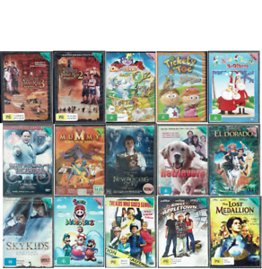 Ex Rental DVD Kids and Family Movies (Lot 2) - Region 4