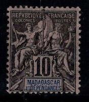 Madagaskar 1896 Yv. 32 Ungebraucht * 100% 10 c