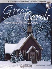Great Carols Bb Clarinet Bb Bass Clarinet Bb Tenor Saxophone - Grade 3 044004678