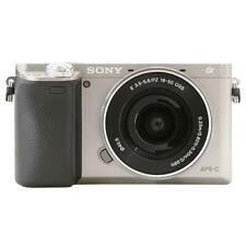 Sony Alpha a6000 Mirrorless Digital Camera with 16-50mm Lens Silver