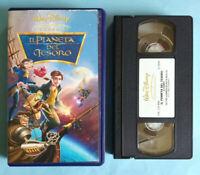 VHS Film Ita Animazione Walt Disney IL PIANETA DEL TESORO vs 4998 no dvd cd(V47°