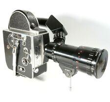 Paillard Bolex H16 M 16mm Movie Camera With 17-85mm Reflex Zoom Lens