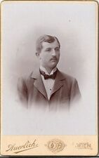 CDV photo Herrenportrait - Wien um 1900