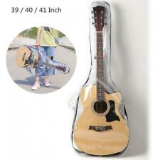 Transparent Acoustic Guitar Bag Double Straps Gig Case Waterproof Backpack