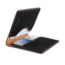 Surazo® Echtes Leder Premium Slim Brieftasche Leather Wallet Geldbörse Cayme