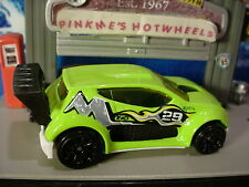 2016 Hot Wheels FAST 4WD ✰Sublime Green/white; black 10sp; 28✰Loose✰