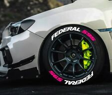 "TIRE LETTERS 1.25 "" FEDERAL 595 Hot Pink 15""- 22"""